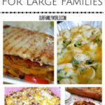 Quick Cheap Meals For Large Families | We, Meals And Love