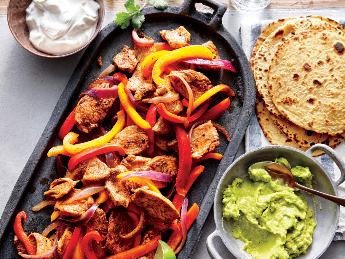 Quick Chicken Fajitas Recipe | MyRecipes