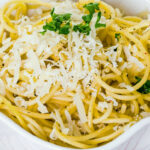 Quick Garlic Parmesan Spaghetti | KitchMe