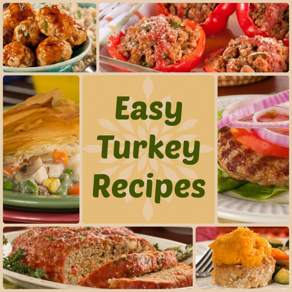 Quick & Healthy Dinner Recipes: 18 Easy Turkey Recipes ...