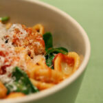 Quick Sausage And Spinach Pasta