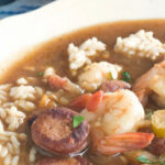 Quick Shrimp Gumbo With Andouille Sausage