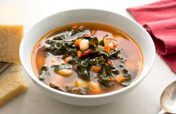Quick Tomato, White Bean and Kale Soup Recipe - NYT Cooking