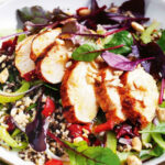 Quinoa And Brown Rice Salad With Chicken