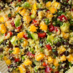 Quinoa Black Bean Salad (with Mangos & Avocados ...