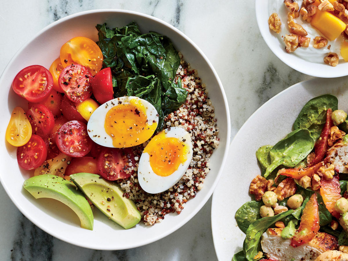 Quinoa Breakfast Bowl with 6-Minute Egg Recipe - Cooking Light