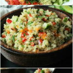 Quinoa Tabbouleh Salad | Easy Healthy Recipes