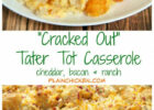 """""""Cracked Out"""" Tater Tot Casserole 