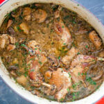 Rabbit Stew with Mushrooms Recipe | SimplyRecipes.com