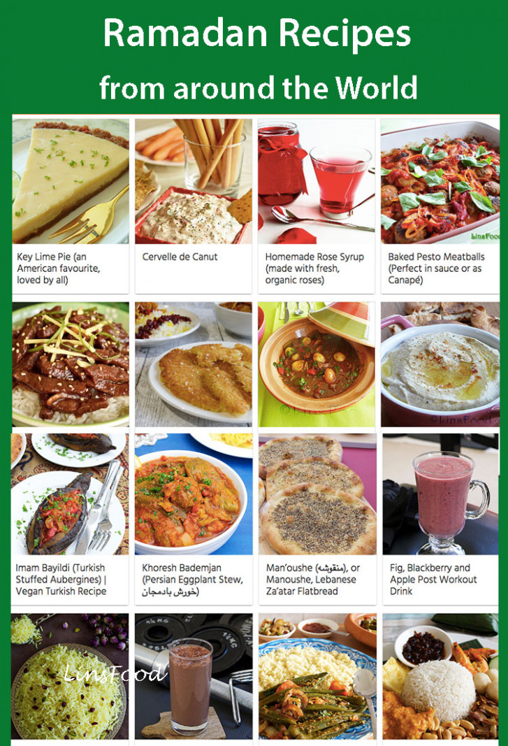 Ramadan Recipes from all Over the World