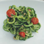 Raw Vegan Zucchini Spaghetti With Creamy Avocado Pasta …