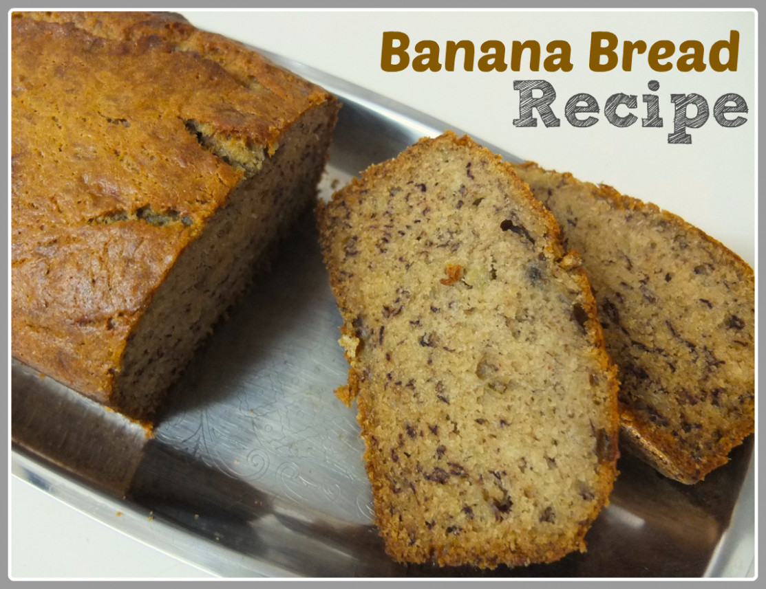 Recipe Banana Bread - Something on Everything