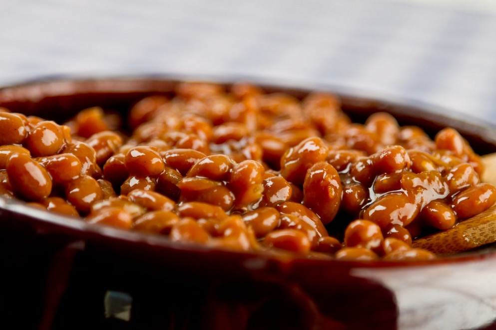 Recipe: Checkerboard Baked Beans