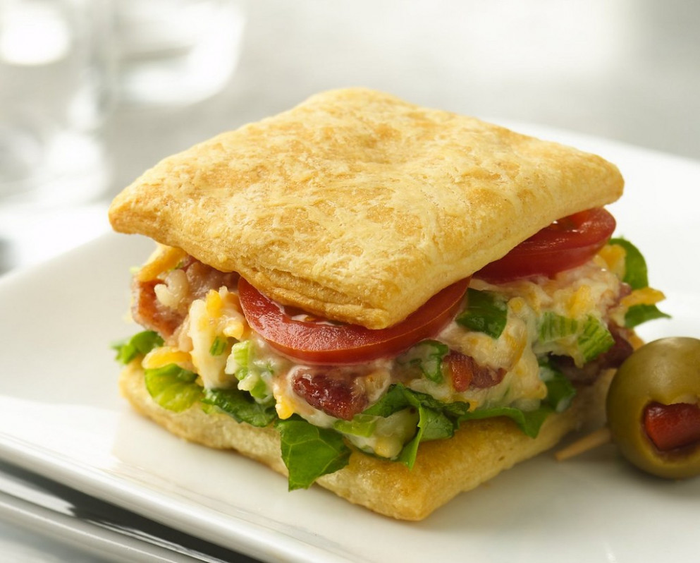 Recipe: Cheesy BLT Mini Sandwiches