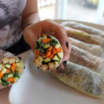 Recipe: Fresh Veggie Rice Paper Wraps | Vegan Girlfriend