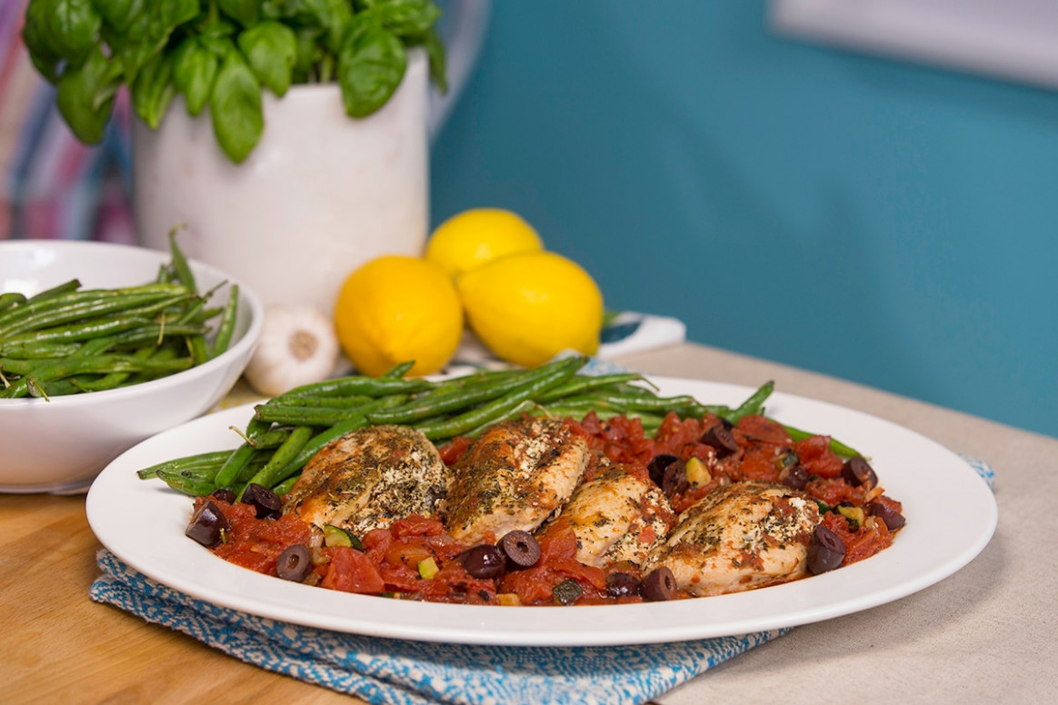 Recipe: Joy McCarthy's Mediterranean Stuffed Chicken - CBC ...