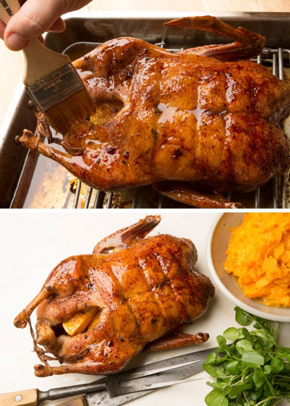 Recipe: Roast duck with orange and ginger || Photo: Fred R ...