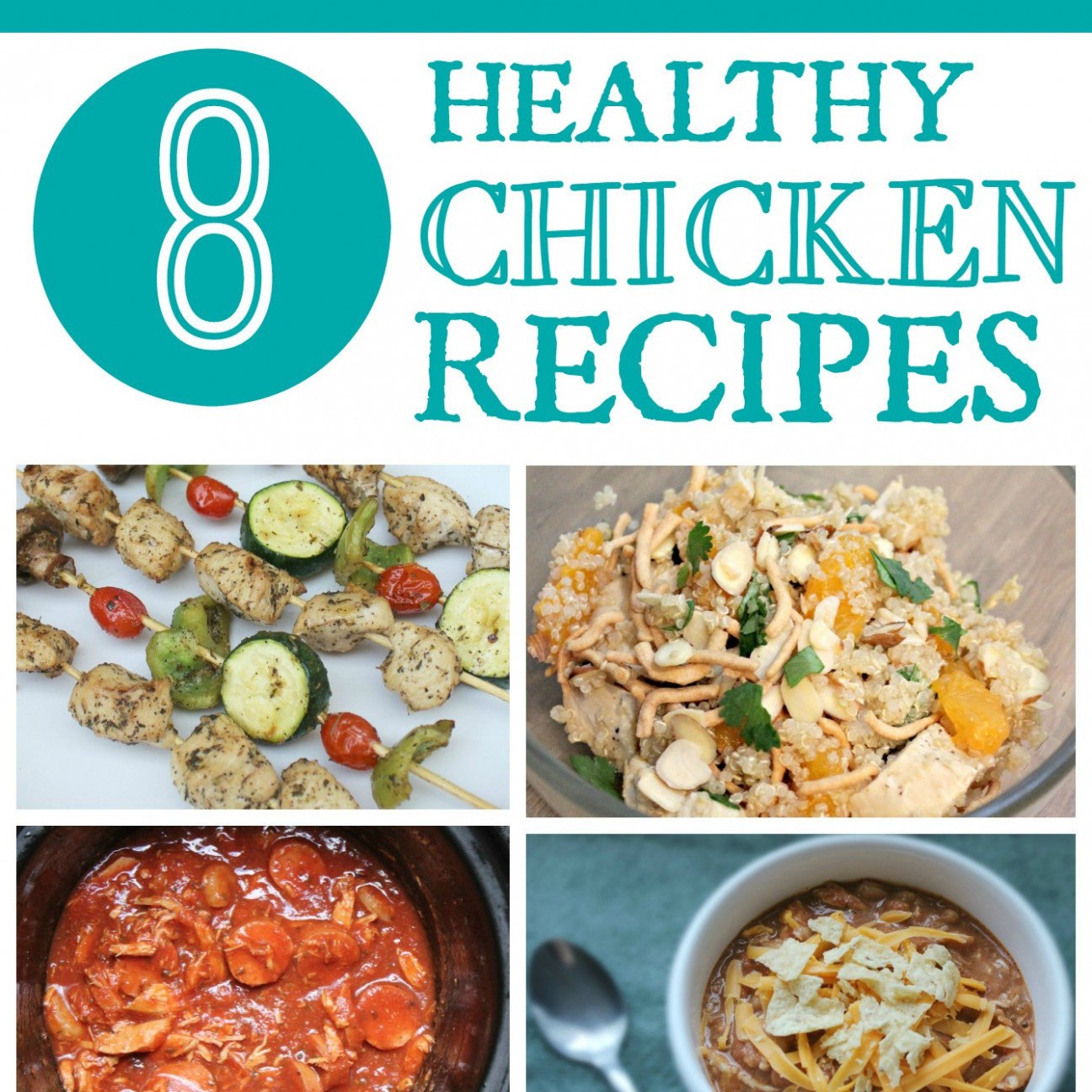 Recipe Roundup: 8 Healthy Chicken Recipes
