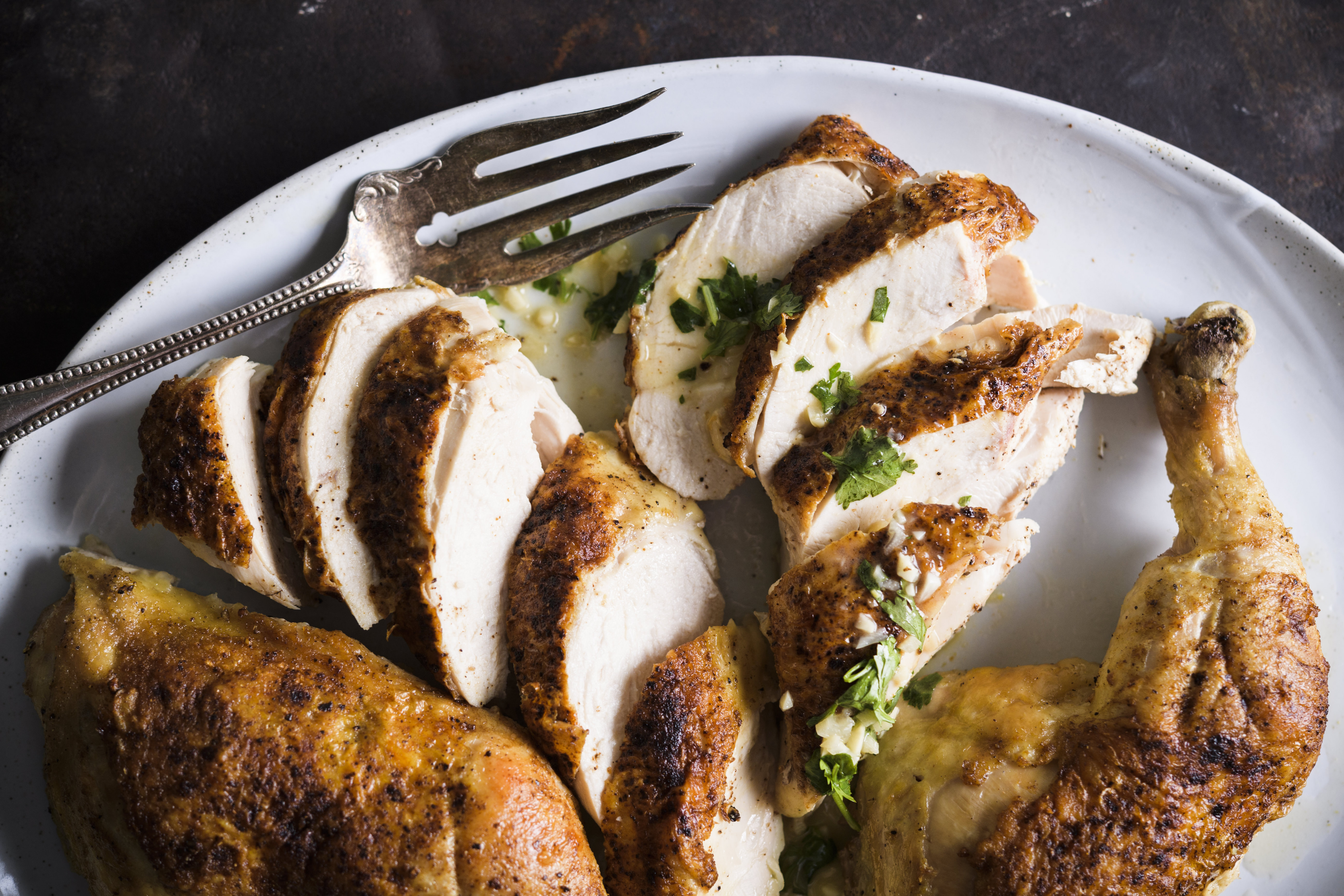 Recipes: No need to worry about rubbery roasted chicken with ...