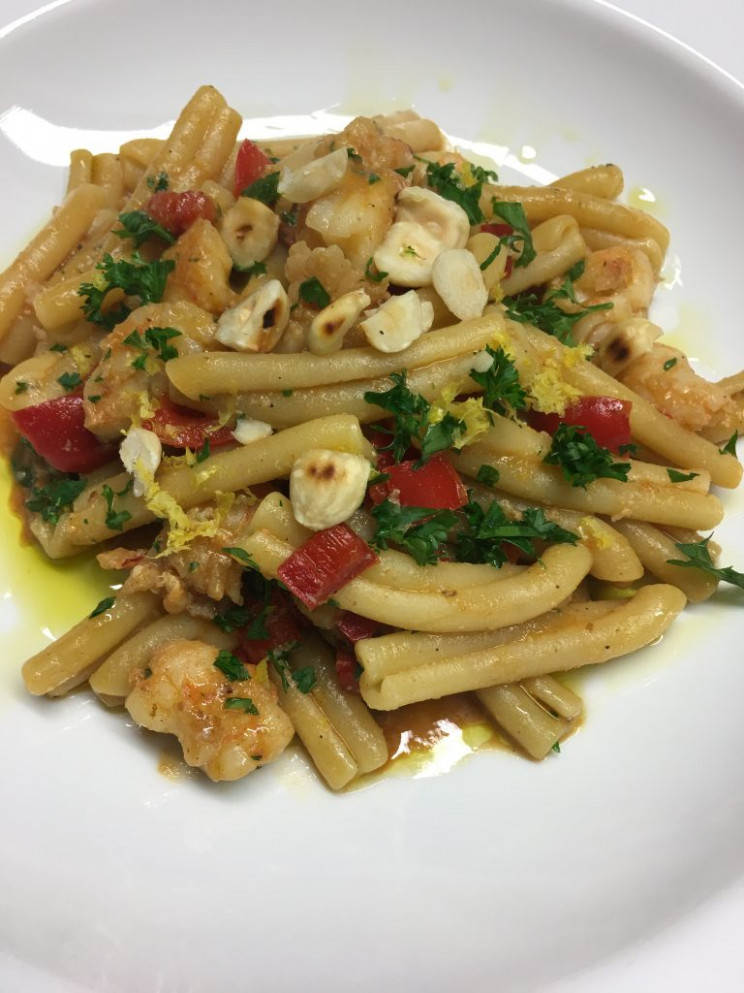 Recipes: Pasta with Prawns and Capsicum