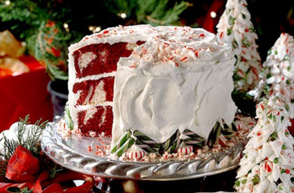 Red velvet peppermint cake recipe - goodtoknow