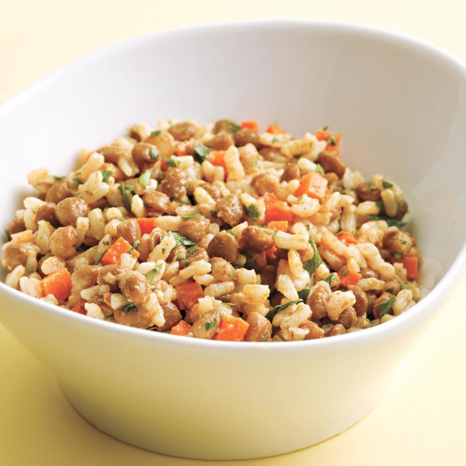 Rice & Lentil Salad Recipe - EatingWell