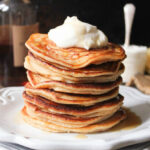 Ricotta Pancakes With Maple Bourbon Whipped Cream …