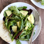 Roasted Asparagus And Avocado Salad With Lemon Parmesan …