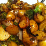 Roasted Balsamic Potatoes, Onions And Broccoli | Food …