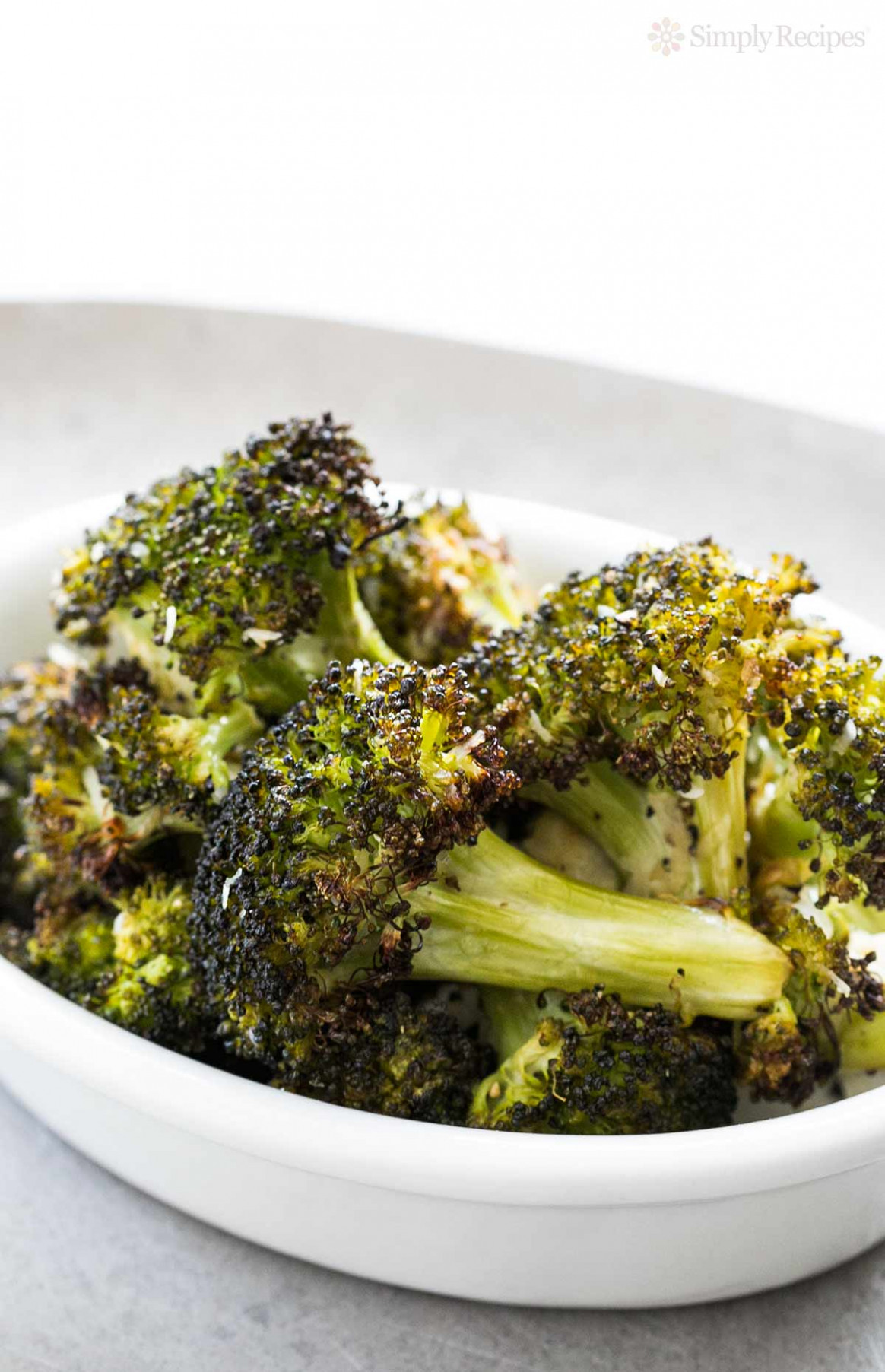 Roasted Broccoli with Parmesan Recipe | SimplyRecipes.com