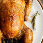 Roasted Chicken Scented With Lemon And Rosemary, With A …