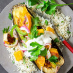 Roasted Eggplant and Butternut Squash with Tahini-Yogurt ...