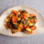 Roasted Pasta Salad With Romesco Dressing – Cook For Your Life