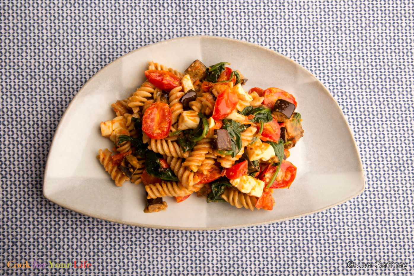 Roasted Pasta Salad with Romesco Dressing - Cook For Your Life