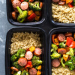 Roasted Sausage, Veggies And Quinoa Meal Prep | Gimme …