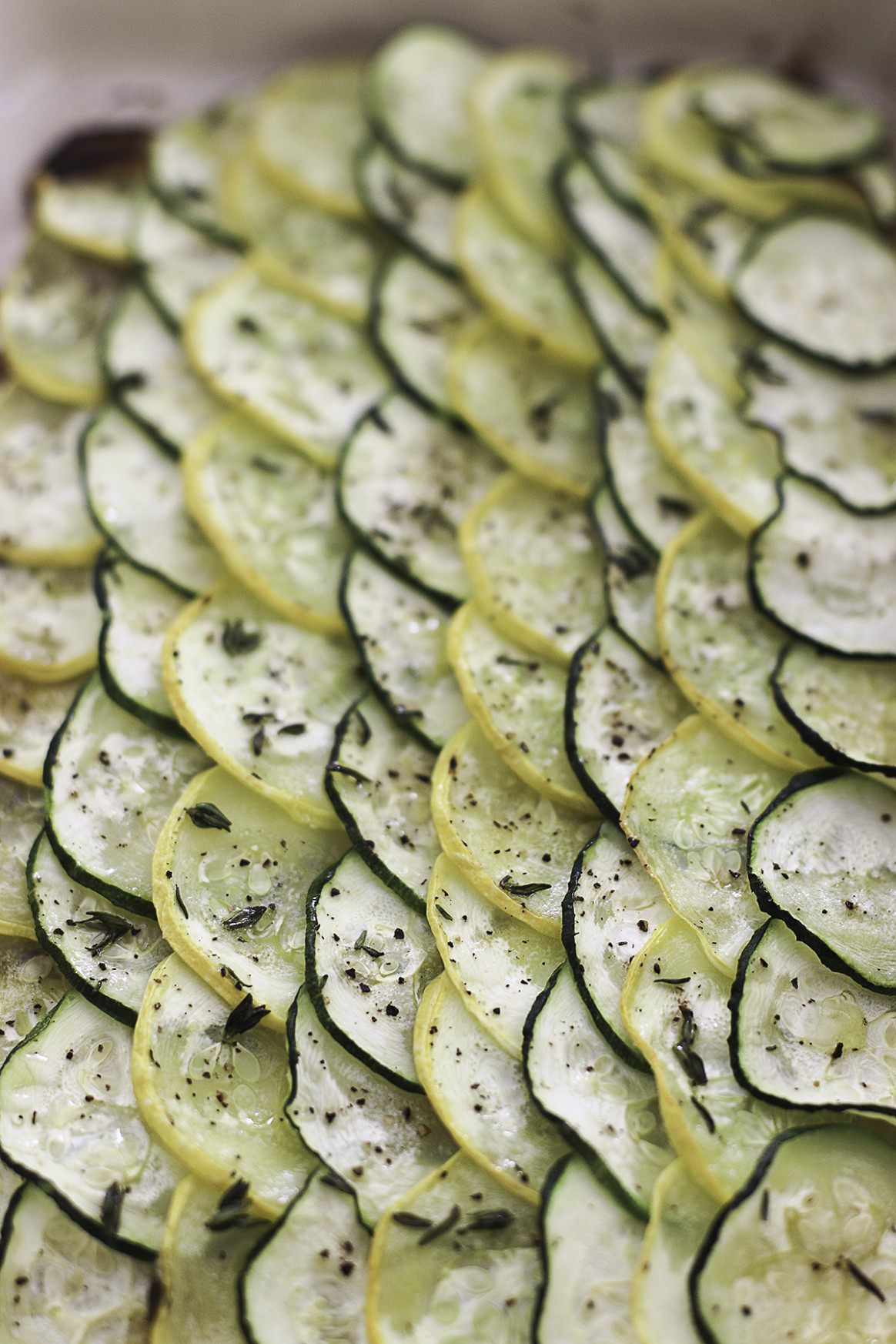Roasted Zucchini and Squash Casserole - Anna Vocino