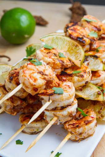Romantic Dinner For Two, Barbecue Shrimp And Romantic …
