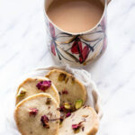 Rose Pistachio Cookies Shortbread – Recipes From A Pantry