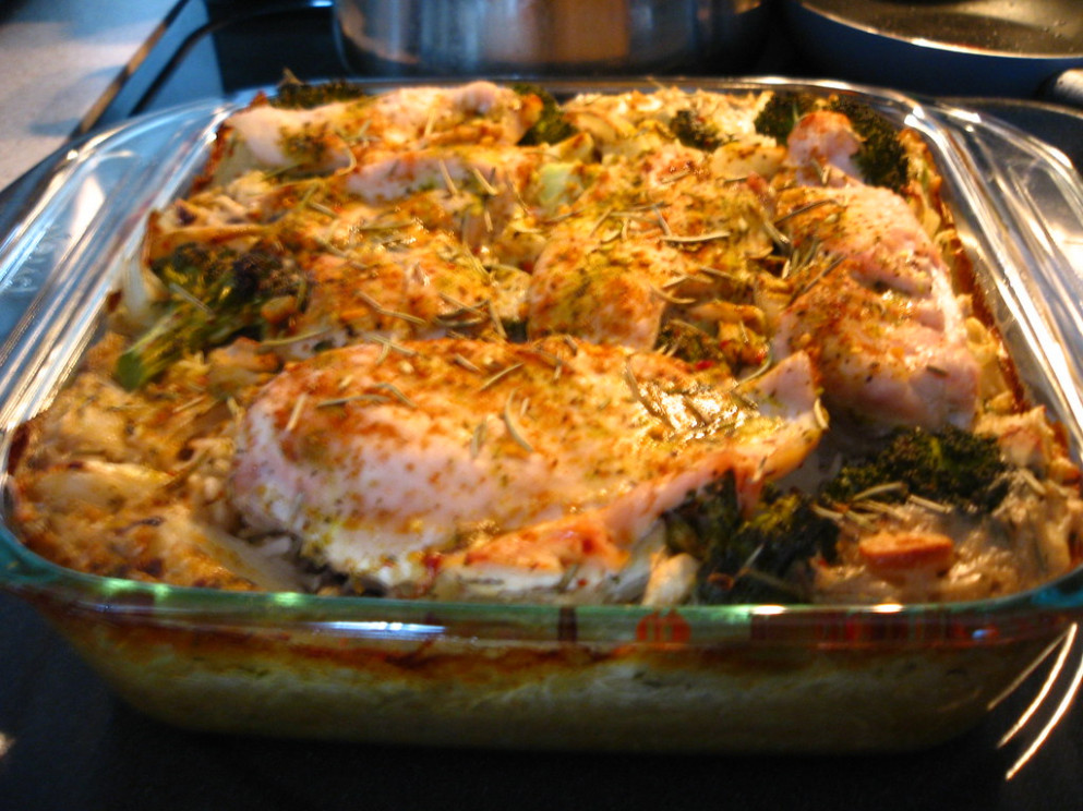 Rosemary Chicken Bake