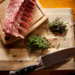 Rosemary Lamb Popsicles With Mint Gremolata