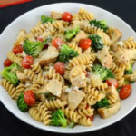 Rotini Pasta With Chicken, Broccoli, Tomatoes, Parmesan …