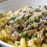 Rotini With Chicken Marsala Ragout Recipe | Trisha …