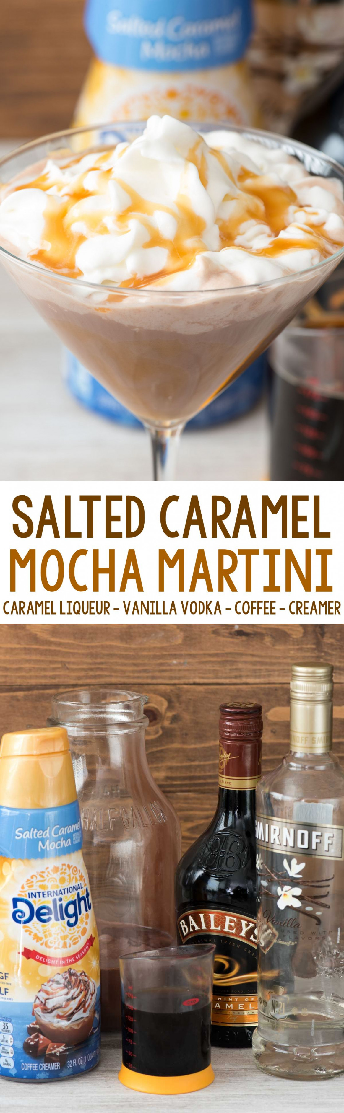 Salted Caramel Mocha Martini - an easy cocktail recipe ...