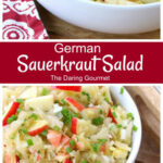 Sauerkraut Salad – The Daring Gourmet
