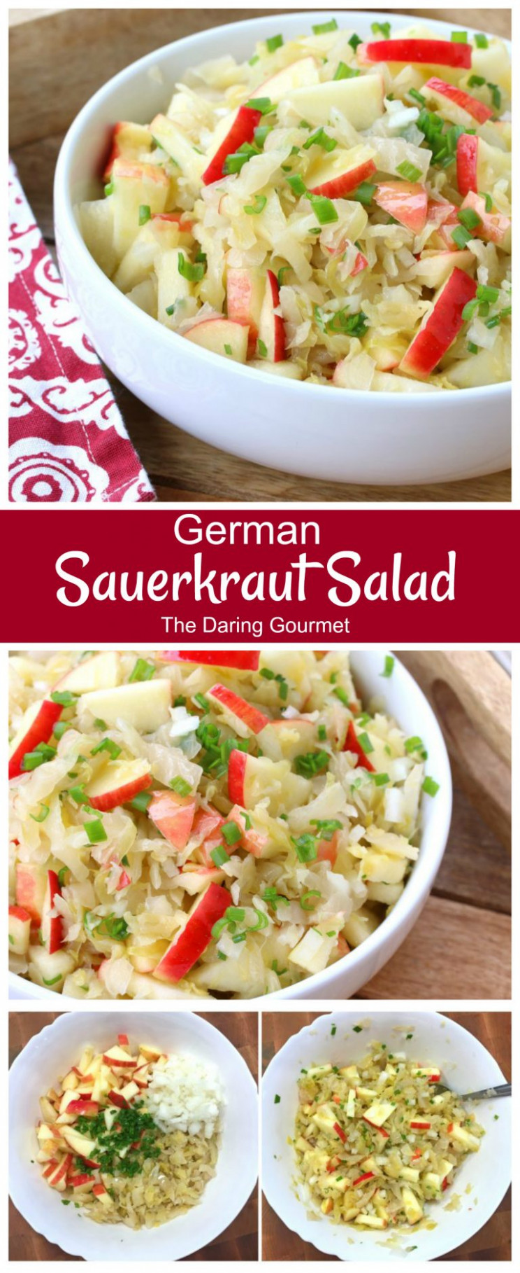 Sauerkraut Salad - The Daring Gourmet