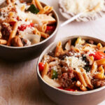 Sausage And Roasted Vegetable Penne Recipe | Melissa D …