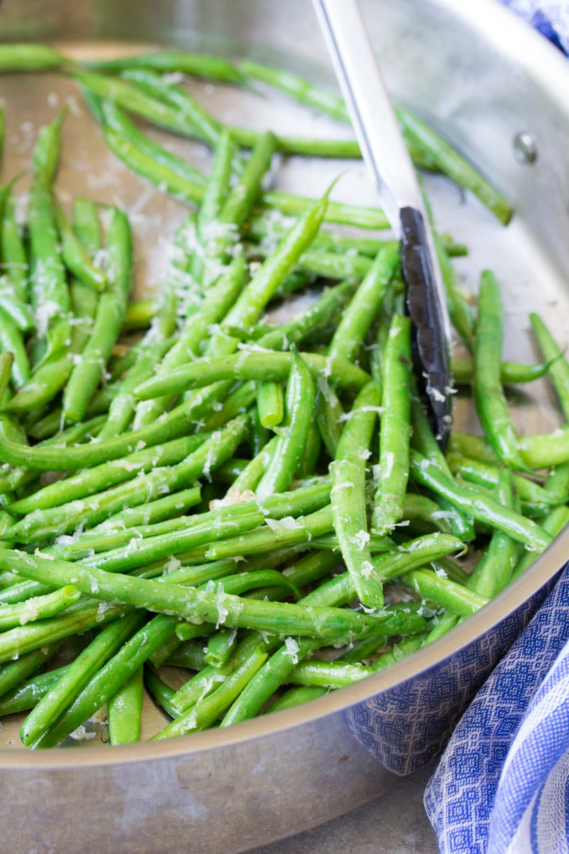 Sautéed Green Beans with Parmesan - Quick & Healthy Recipe