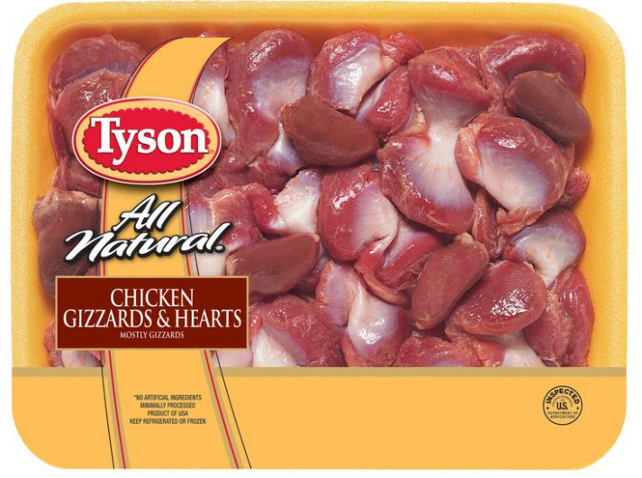 Sautéed, baked or fried, Tyson® Chicken Gizzards & Hearts ...