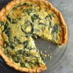Sautéed Onion Gruyere Spinach Quiche Recipe | She Wears …