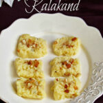 Savitha's Kitchen: Quick And Easy Kalakand Recipe Using …